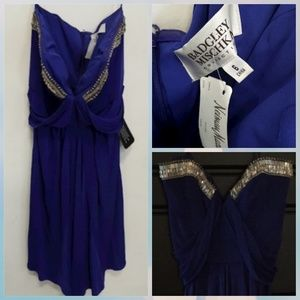 BNWT Badgley Mischka embellished Cocktail dress